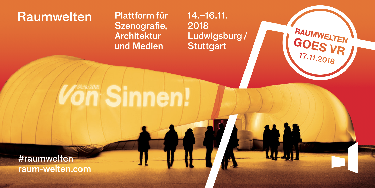 Raumwelten – Platform for Scenography, Architecture and Media