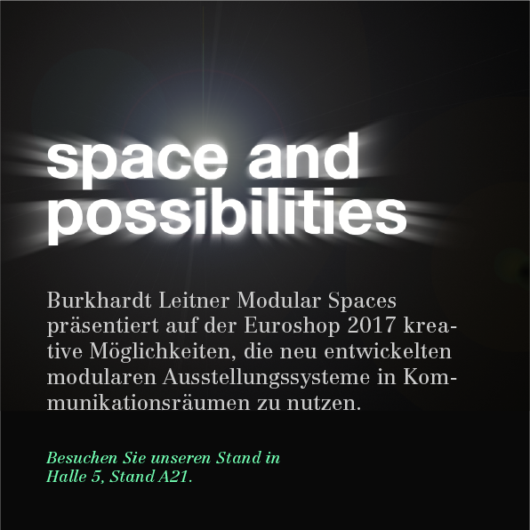 Leitgedanke von Burkhardt Leitner Modular Spaces: space and possibilities